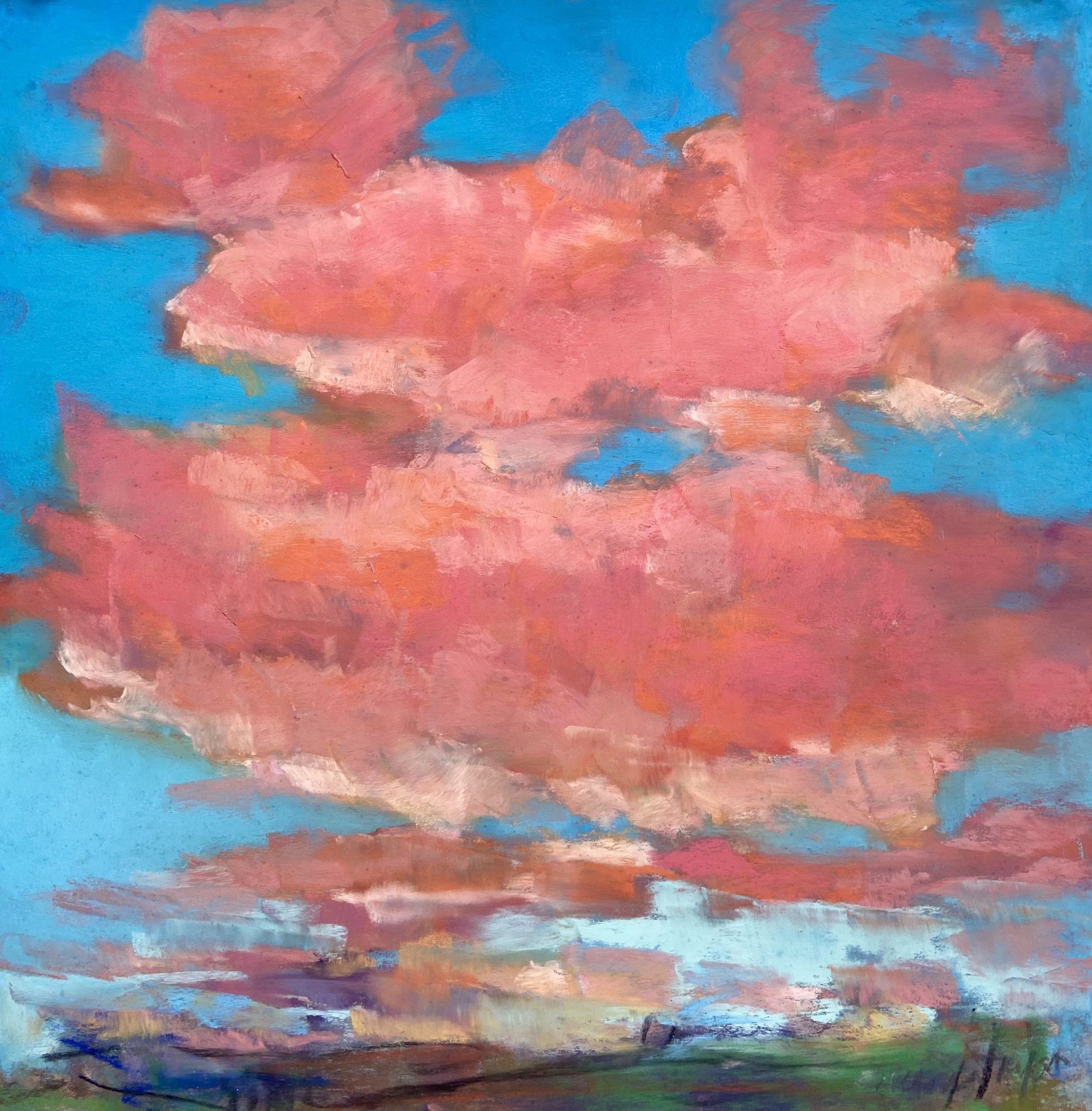 Turbulent Pink #2