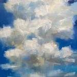 """""""The Pretty Rain"""". 15x11 oil on paper $775 SOLD x"""